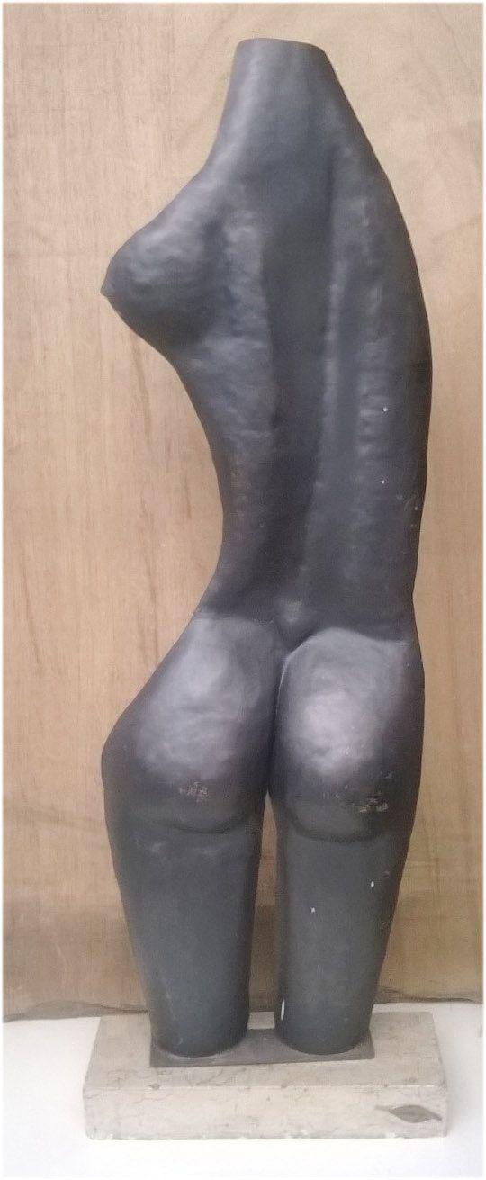 Lampada scultura  Nudo di donna  in ferro di artisticwroughtiron, €550.00