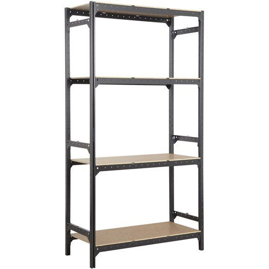 25 best ideas about etagere acier on pinterest bureau - Etagere en bois leroy merlin ...