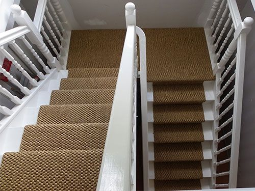 Sisal Runner With Landing