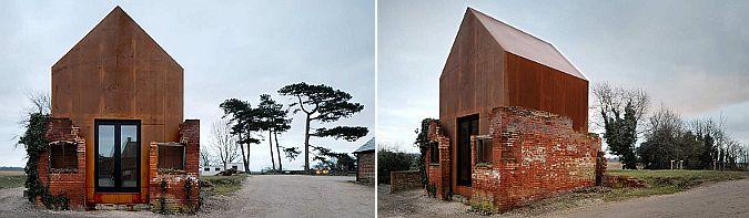 Dovecote studio (studio for visual artists in Snape Maltings), Suffolk – United Kingdom (2009). Arquitectura, Haworth Tompkins. Fotografías, Philip Vile
