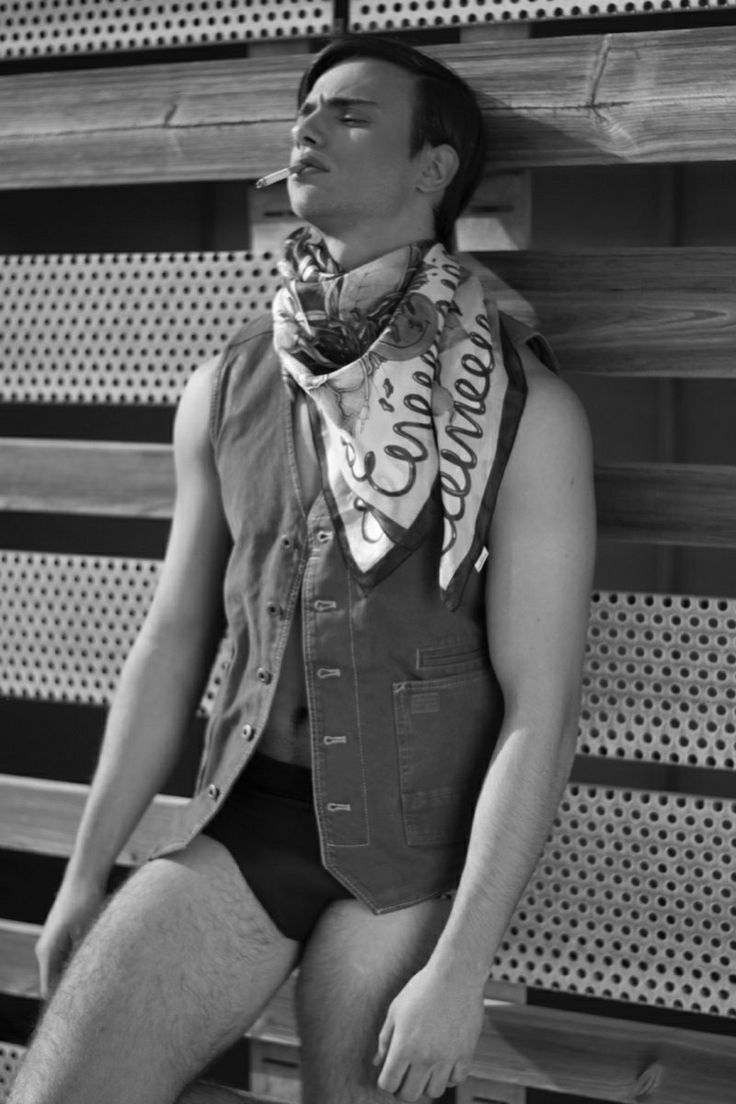 Moschino Men 2019 Underwear Shoot | The Fashionisto