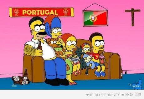 Portuguese Simpsons!