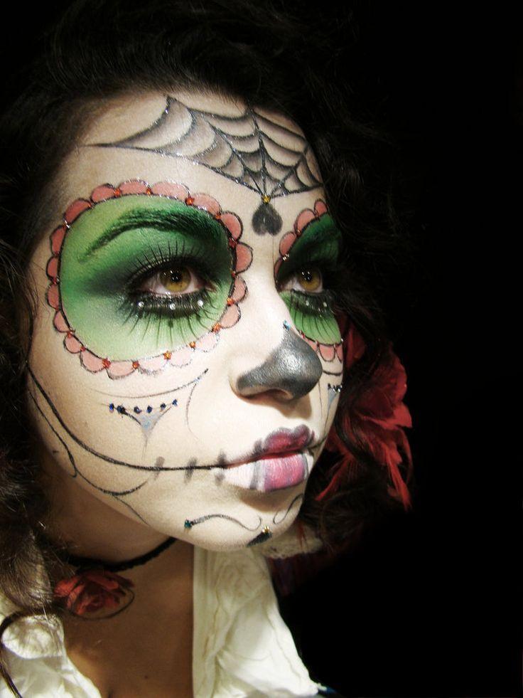 Dia De Los Muertos face paint | Dia De Los Muertos | Pinterest