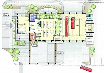Volunteer Fire Station Floor Plans Google Search Fire