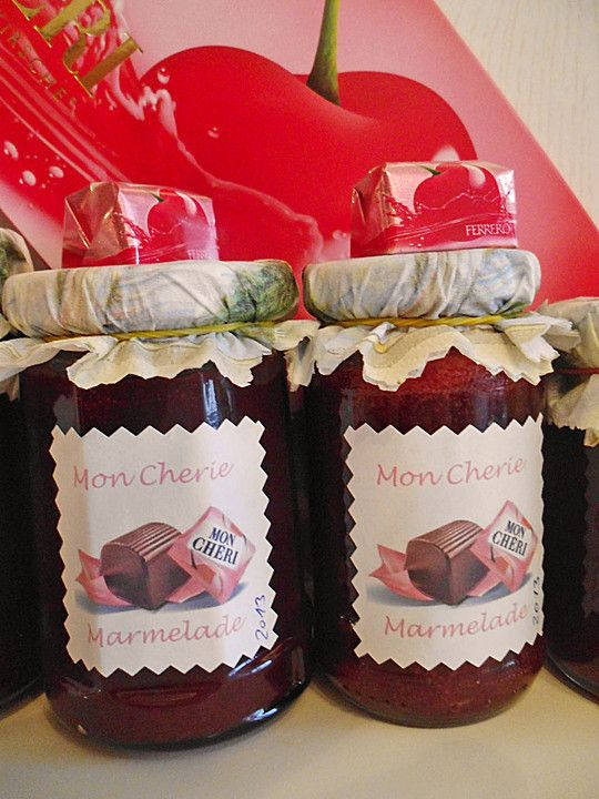Mon Cheri Marmelade, ein beliebtes Rezept aus der Kategorie Frühstück. Bewertungen: 12. Durchschnitt: Ø 4,3.