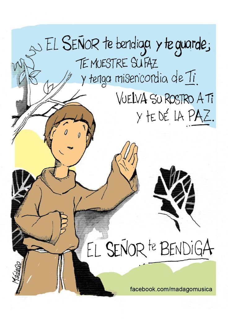 """La """"Bendición de San Francisco al hermano León"""" es uno de los tres autógrafos que se conservan del santo de Asís. Ésta se conserva en la basílica que lleva su nombre -declarada Patrimonio de la Humanidad desde el año 2000- en Asís, en la región italiana de Umbría."""