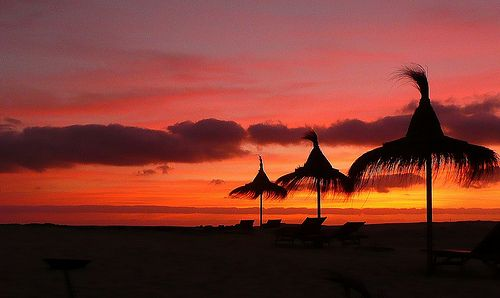 Sunset at Sal Rei, Boa Vista