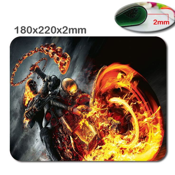 Terrible skull and motorcycle game mouse pad wholesale mat  mouse laptop brand game mouse pad players notebook mouse pad