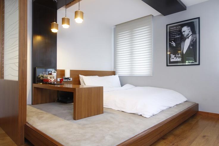bedroom zen modern bedroom interiors residence manila hillside