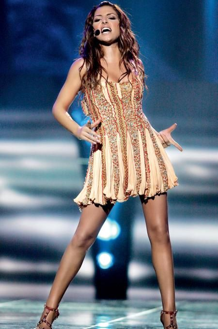 Helena Paparizou - Greece - 2005- Winner of Eurovision 2005 ! She is amazing !