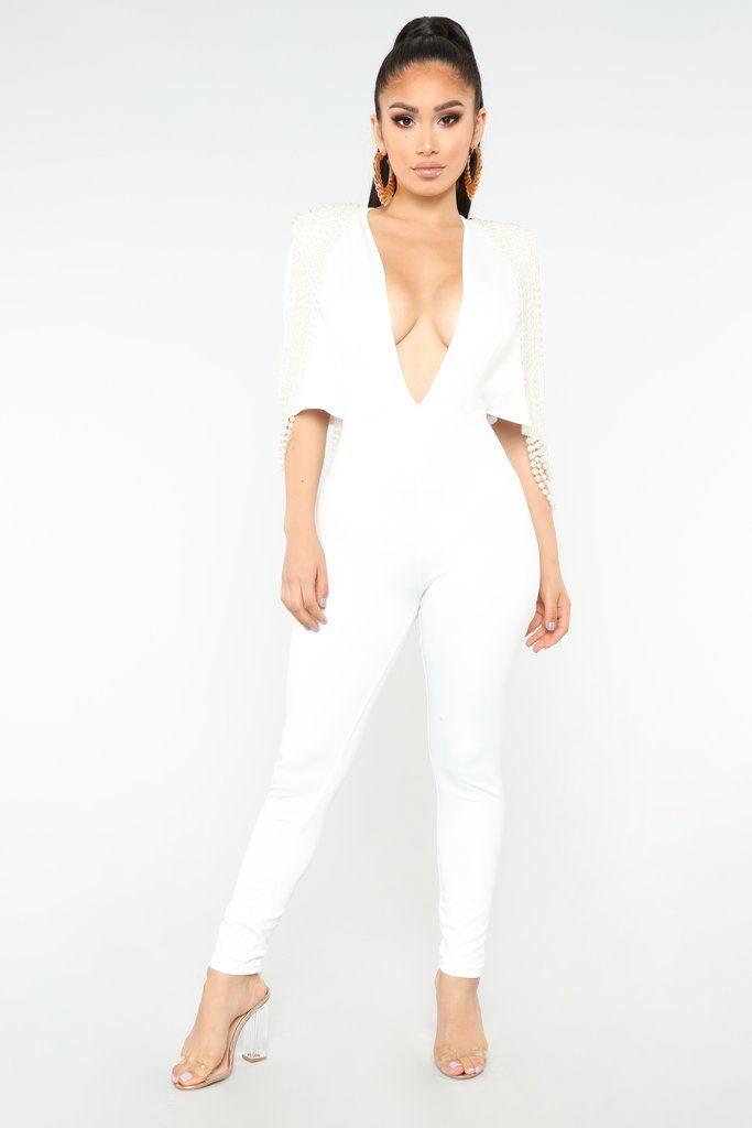 51ab8d44a37 Juana Pearl Jumpsuit - White