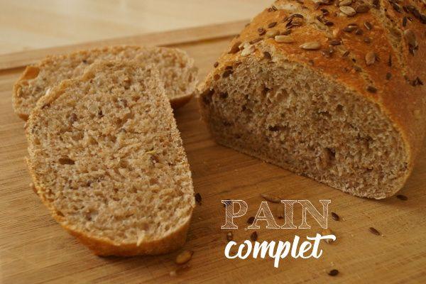 Le pain complet aux graines