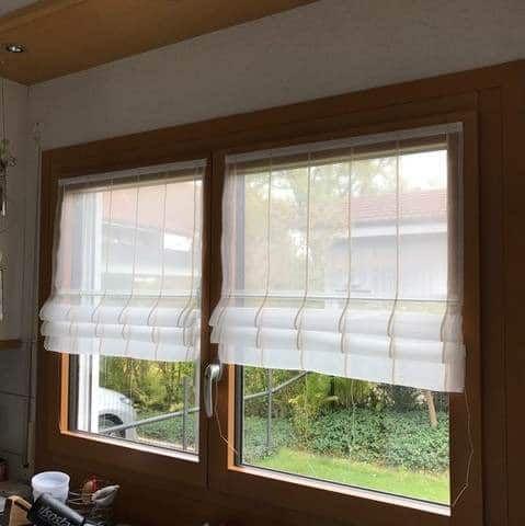 Feststehendes Faltrollo Fur Ihr Fenster Von Nasha Ambrosch Faltrollo Raumgestaltung Und Fenster