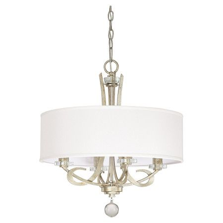 View The Capital Lighting Hutton 4 Light 1 Tier Drum Chandelier At