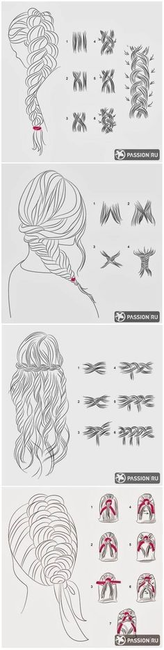 how-to guide for different types of braid