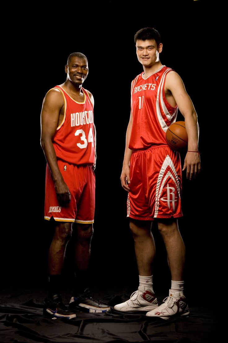 Hakeem & Yao.    For the latest Rockets news & updates, visit www.rockets.com.