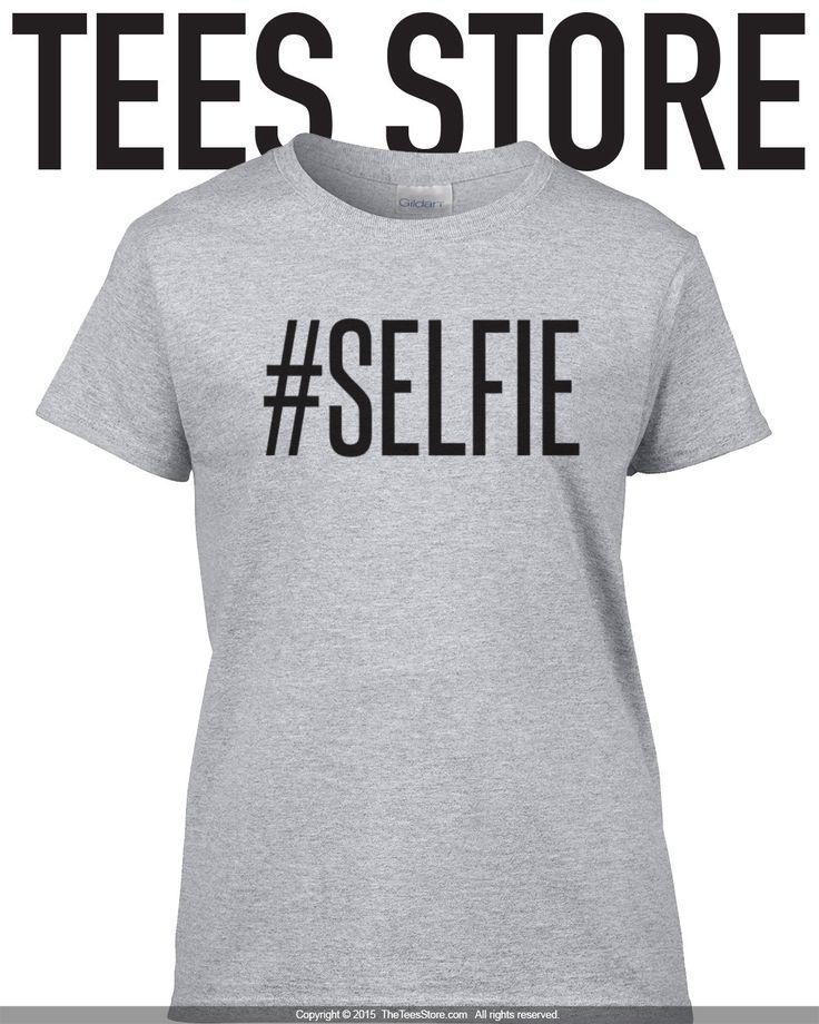 Selfie Shirt / SelfieT-Shirt / Introvert Gift Idea / Funny Shirt / Loner Shirt / Instagram Shirt / Tumblr Shirt / Popular Shirt / 346 by TeesStore on Etsy