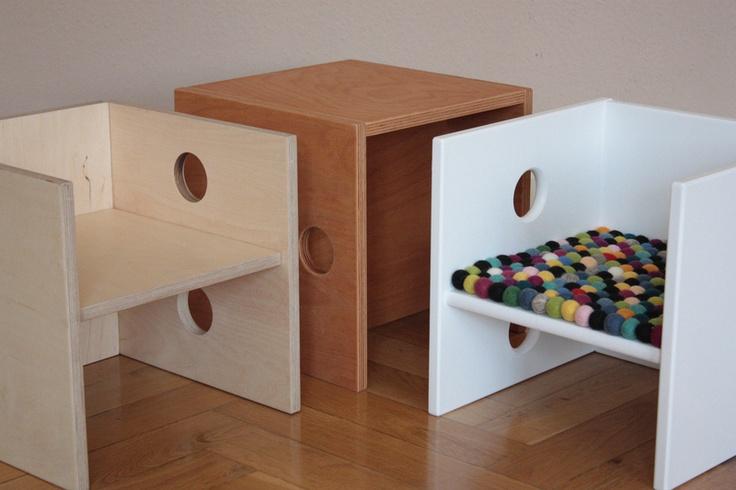 Chair and seat cushion: Kids Furniture, Chair, Seat Cushions, For The, Nursery, Fun Ideas