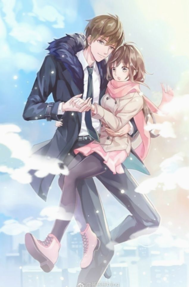Pin On Anime Cute anime couples wallpaper