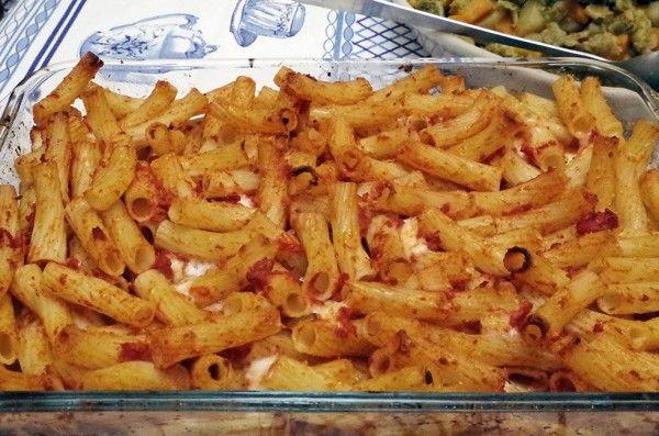 Pasta al forno pomodoro e mozzarella ⋆ Chez Sylvie