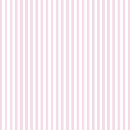 Παιδική Ταπετσαρία Τοίχου Ροζ Σχέδιο Λεπτή Ρίγα Disney Deco 3009-2-Διάσταση Ρολού ( 0,53 Χ 10,05 m)