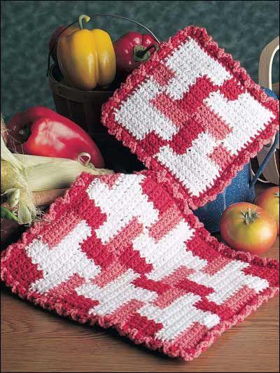 186 Best Kitchen Crochet Images On Pinterest Crochet Potholders