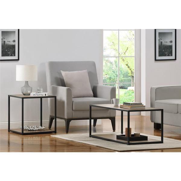 End Table With Metal Frame   Overstock™ Shopping   Great Deals On Altra  Furniture Coffee, Sofa U0026 End Tables