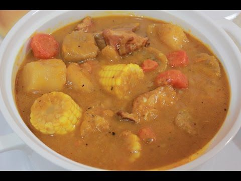 How to make Sancocho and White Rice (the puerto rican way) - YouTube