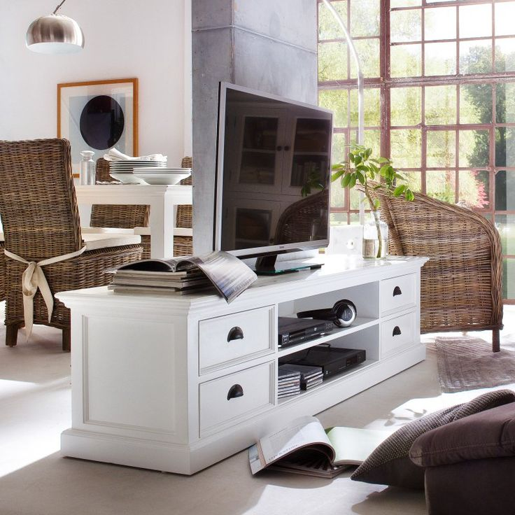 Nova Solo Halifax Large TV Stand with 4 Drawers - CA631