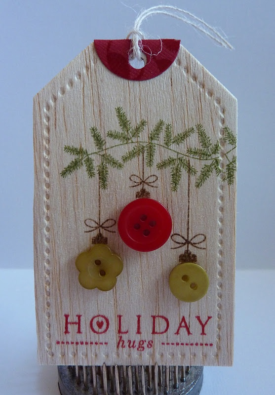 Crafting with Katie: Balsa Wood Christmas Tag
