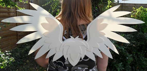 From angels to demons and everything in between, so many costumes call for wings. The question is, are you prepared to make them? Sure it might be easier and in some cases cheaper to buy them, but ...