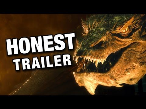 #TheHobbit: The Desolation of Smaug! [Honest Trailers] #lotr #lordoftherings #funny