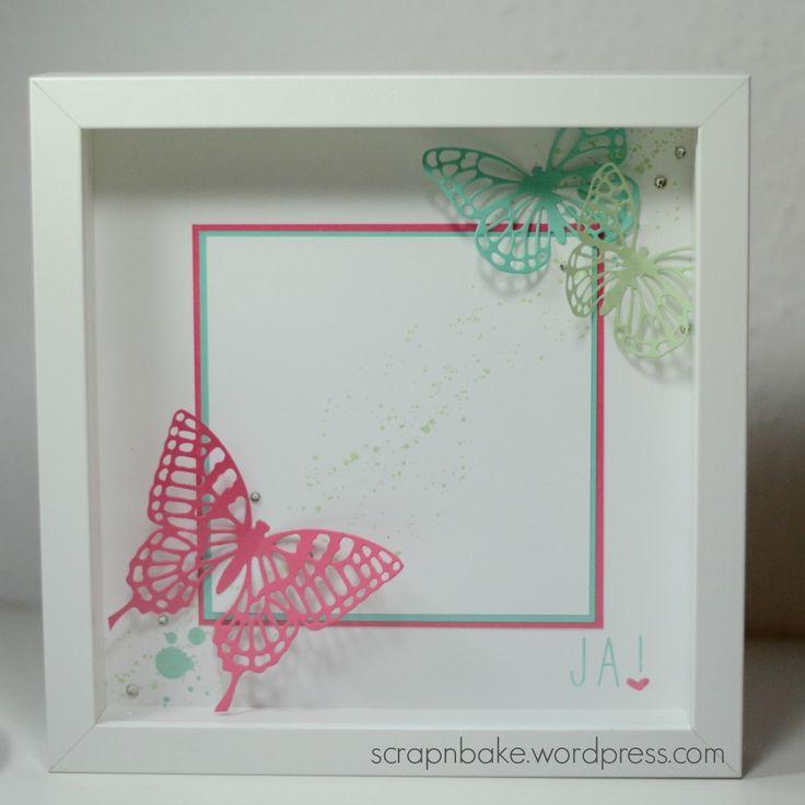 Stampin ' UP ! - butterfly - Schmetterlinge - Thinlits - Gorgeous Grunge - Rahmen - Ribba - Frame - Spring - SAB 2015