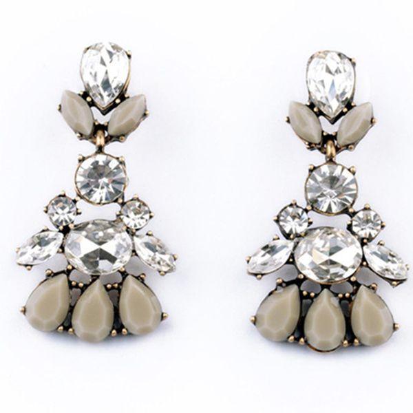 Glaciar Grey Earrings