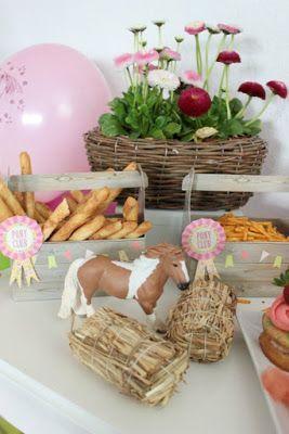Pferde-Geburtstagsparty -Horse Birthday Party- Tolle Ideen fr einen gelungenen Kindergeburtstag - Teil 1 ~Bastelideen, DIY Beschftigung,Spiele,deko.Essen ~ SASIBELLA