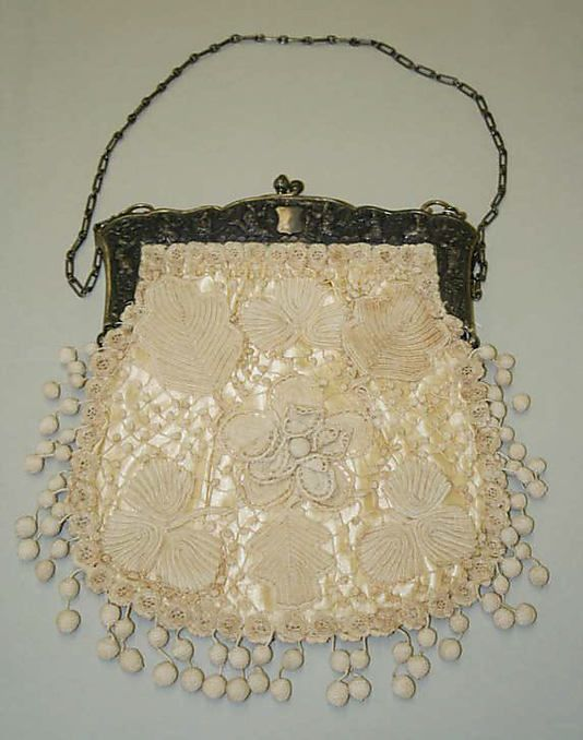Bag  Date: late 19th century Culture: French (probably)