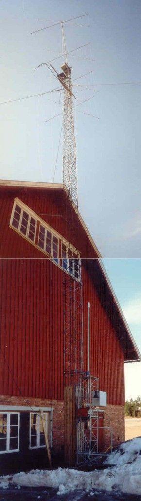 LA5M Gruppestasjon i Våler | LA5M The old clubstation