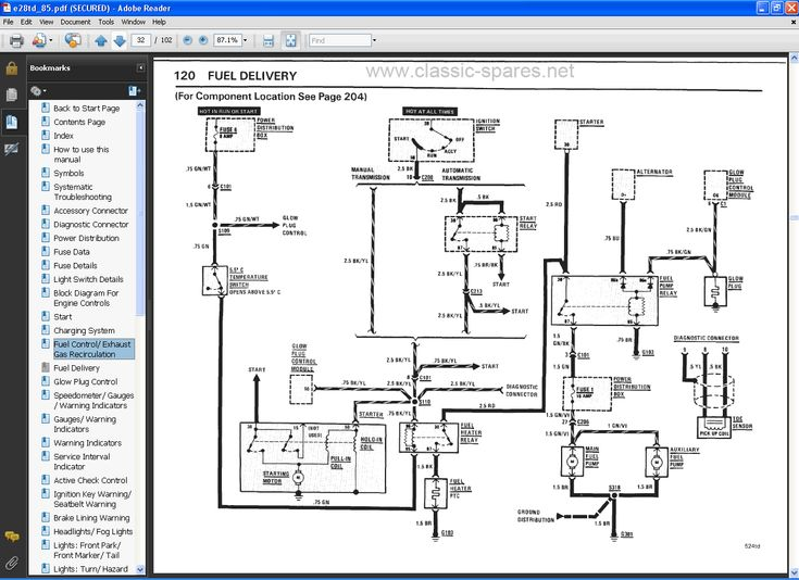 Bmw e39 electrical wiring diagram #6 | Tools | Electrical