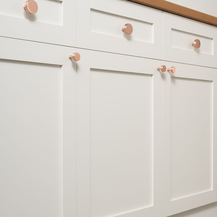 riverwood knob satin copper - Copper Kitchen Cabinet Hardware