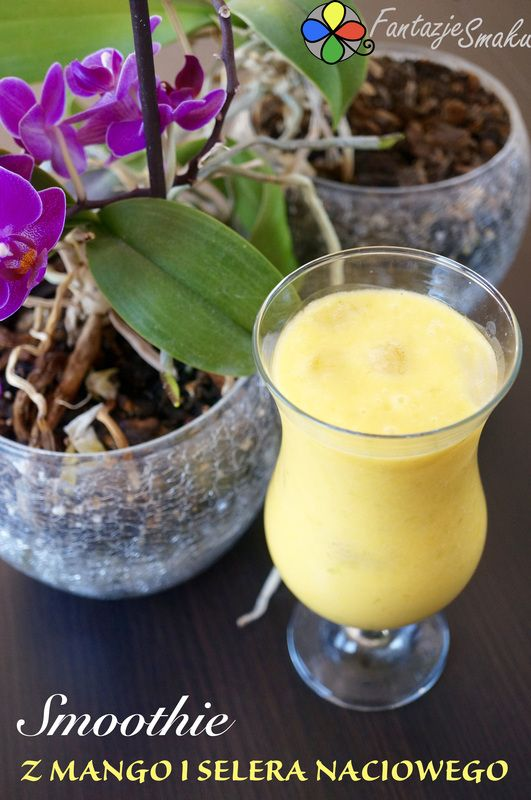 Smoothie z mango i selera naciowego http://fantazjesmaku.weebly.com/smoothie-z-mango-i-selera-naciowego.html