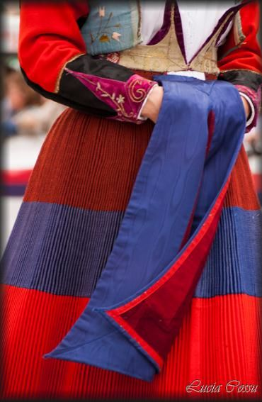 Sant'Efisio 2013; Traditional dress from Fonni