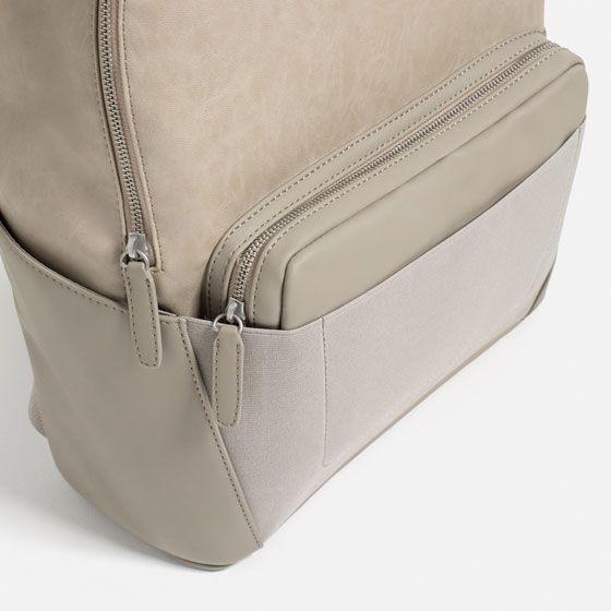 Image 3 of ELASTIC DETAIL BACKPACK from Zara