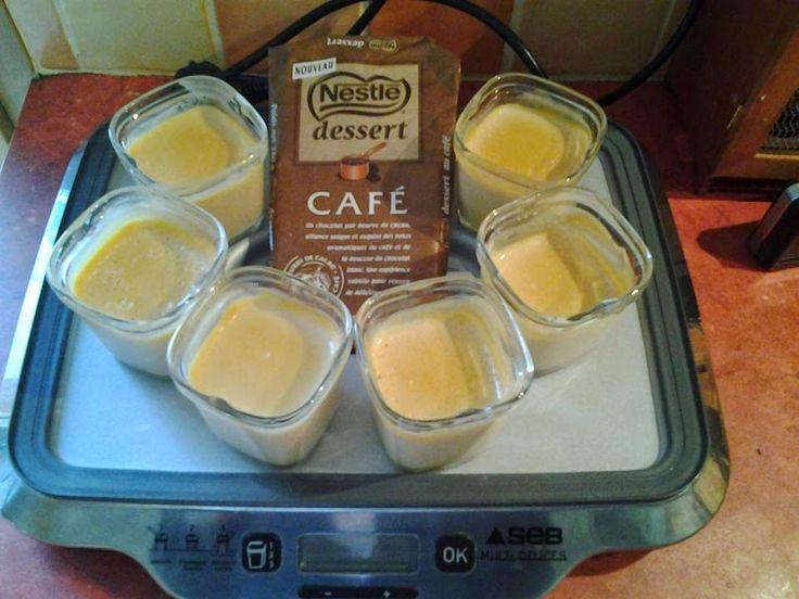 Les petits plats de Vanessa: Crèmes délicieuses au café (Multidélices)