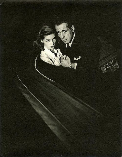 Lauren Bacall and Humphrey Bogart photographed by John Engstead.