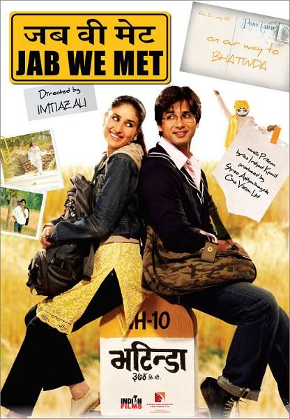 Jab We Met — Perfect mix of romance, laughter and tears... Can watch it again and again and love it just as much each time.