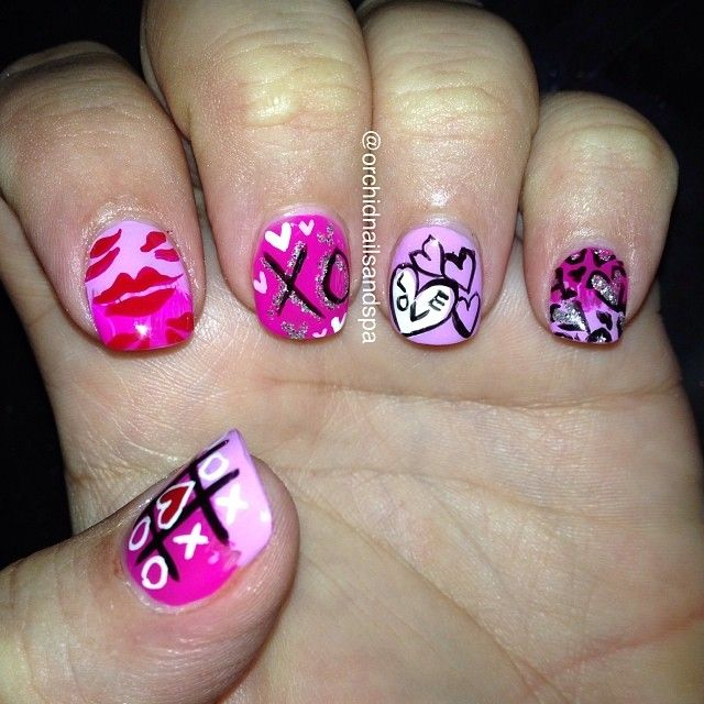 256 best february nail art images on pinterest holiday nails 256 best february nail art images on pinterest holiday nails nail nail and fingernail designs prinsesfo Gallery