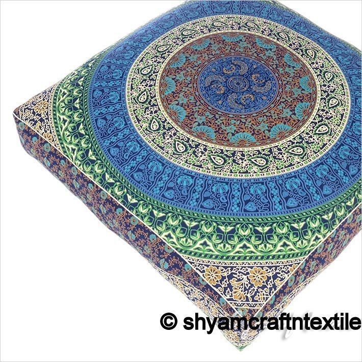 Dog bed cushion cover Boho dog bedding huge mandala tapestry dog bed cover Art #Handmade #Traditional