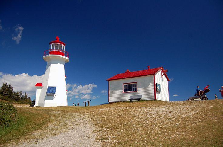 Cap Gaspé Lighthouse - Cap Gaspe, Quebec