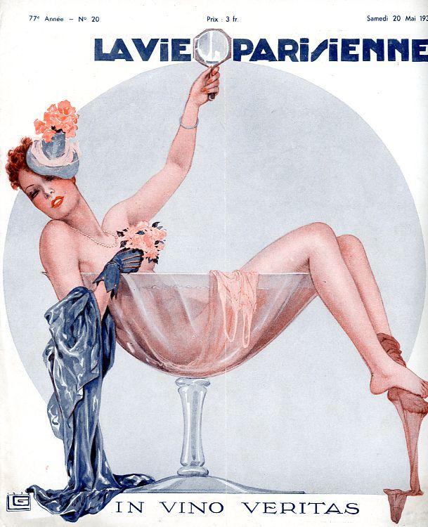 Georges Léonnec (1881 – 1940). La Vie Parisienne, 20 Mai 1939. [Pinned 23-i-2015]