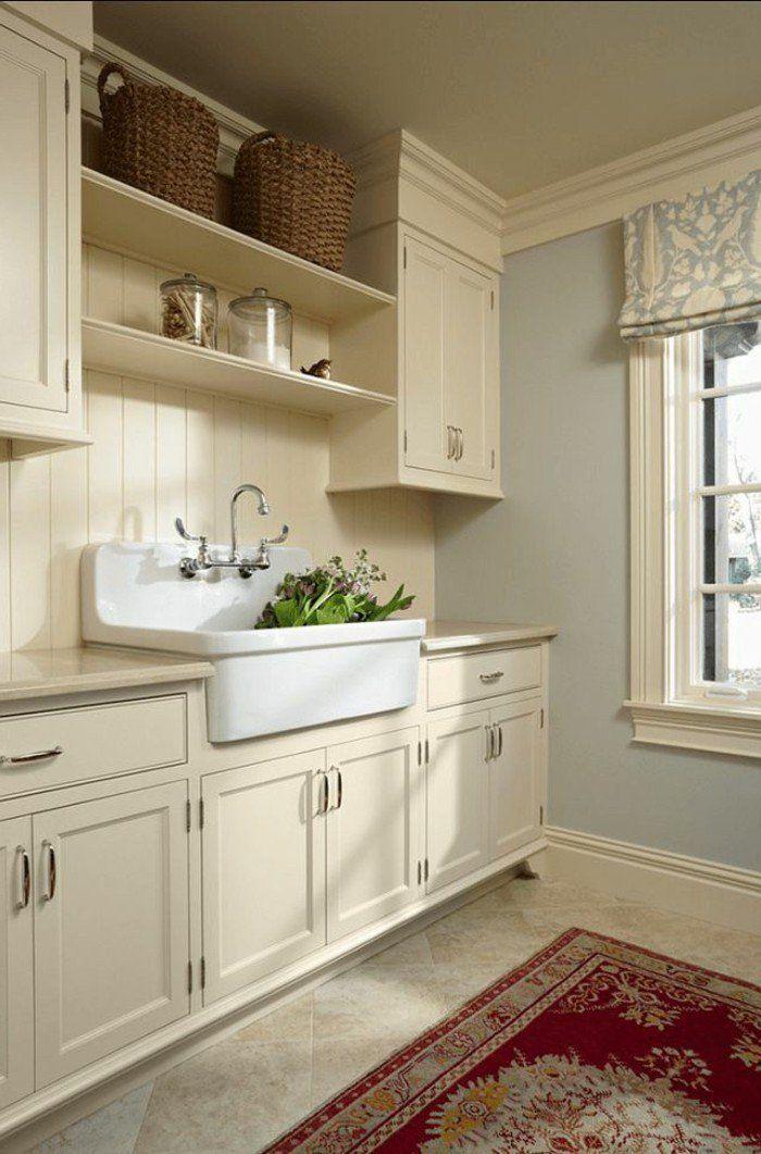 17 meilleures id es propos de cuisine beige sur pinterest armoires de cui - Repeindre une table de cuisine en bois ...